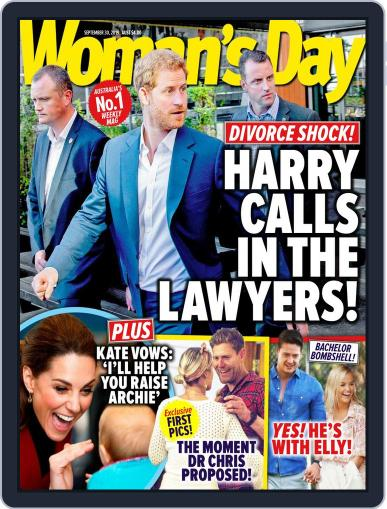Woman's Day Australia (Digital) September 30th, 2019 Issue Cover