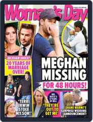 Woman's Day Australia (Digital) Subscription October 21st, 2019 Issue