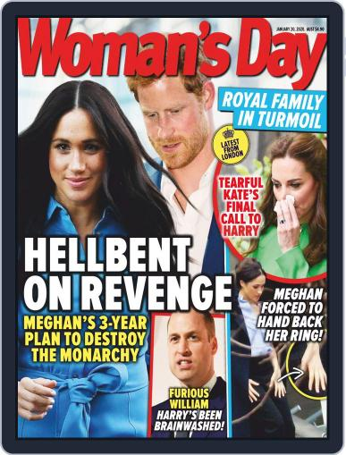 Woman's Day Australia January 20th, 2020 Digital Back Issue Cover