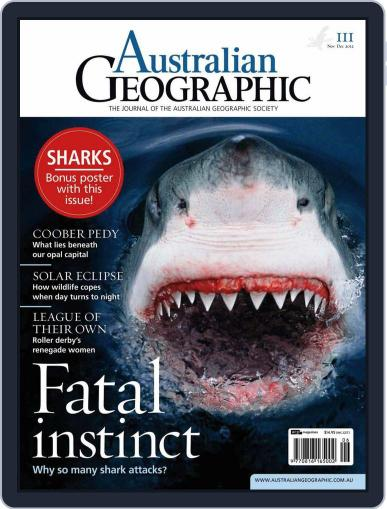 Australian Geographic (Digital) October 30th, 2012 Issue Cover