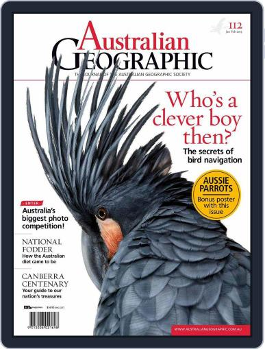 Australian Geographic January 1st, 2013 Digital Back Issue Cover