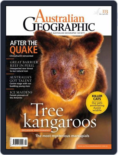 Australian Geographic (Digital) March 5th, 2013 Issue Cover