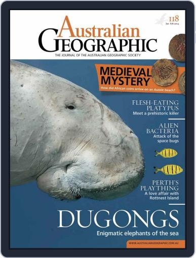 Australian Geographic January 7th, 2014 Digital Back Issue Cover