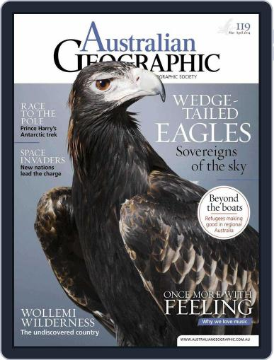 Australian Geographic (Digital) March 5th, 2014 Issue Cover