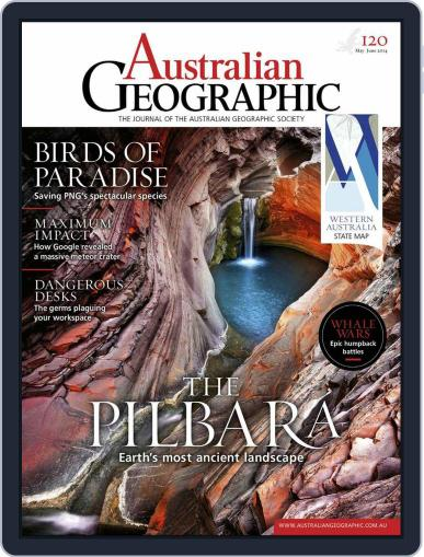 Australian Geographic (Digital) May 7th, 2014 Issue Cover