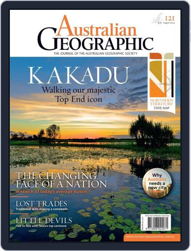 Australian Geographic July 2nd, 2014 Digital Back Issue Cover