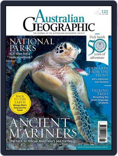 Australian Geographic November 5th, 2014 Digital Back Issue Cover
