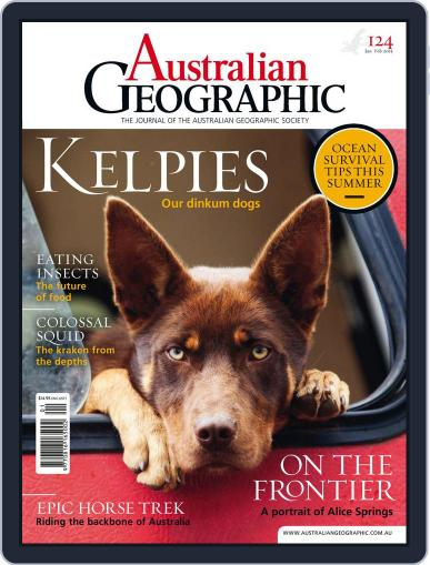 Australian Geographic January 12th, 2015 Digital Back Issue Cover