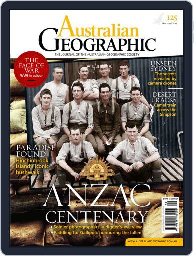 Australian Geographic March 1st, 2015 Digital Back Issue Cover