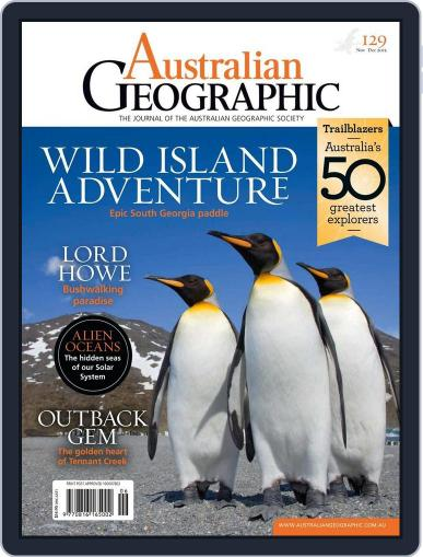Australian Geographic (Digital) November 3rd, 2015 Issue Cover