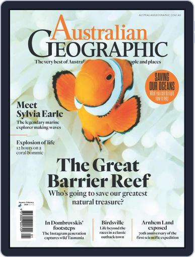 Australian Geographic January 1st, 2018 Digital Back Issue Cover