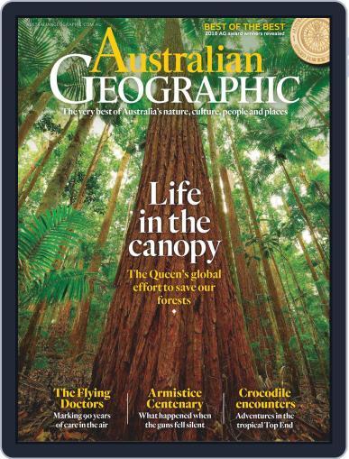Australian Geographic November 1st, 2018 Digital Back Issue Cover
