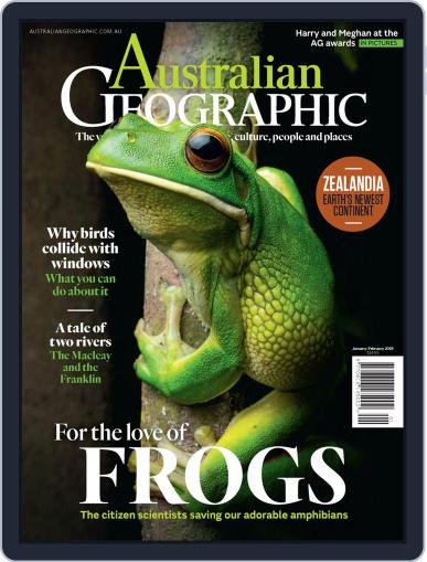 Australian Geographic January 1st, 2019 Digital Back Issue Cover