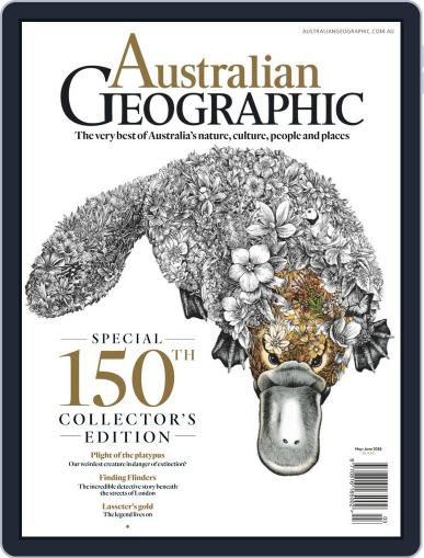 Australian Geographic May 1st, 2019 Digital Back Issue Cover