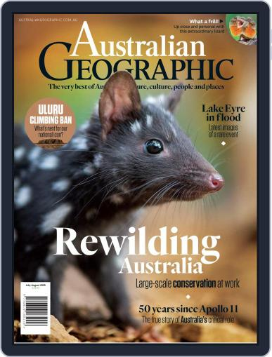 Australian Geographic July 1st, 2019 Digital Back Issue Cover