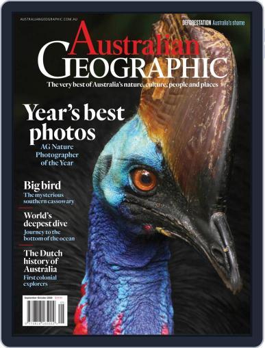 Australian Geographic (Digital) September 1st, 2019 Issue Cover