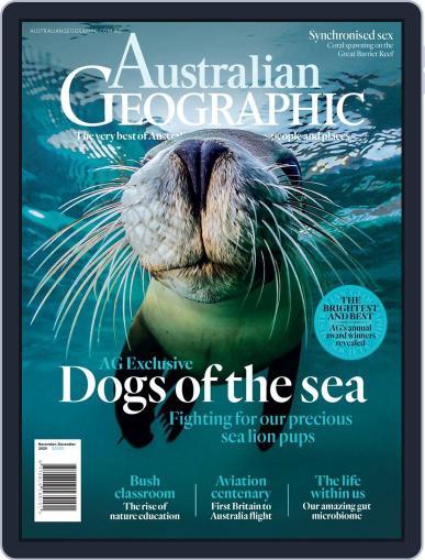 Australian Geographic November 1st, 2019 Digital Back Issue Cover