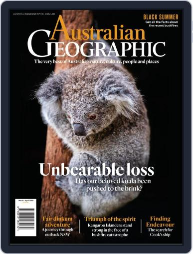 Australian Geographic March 1st, 2020 Digital Back Issue Cover
