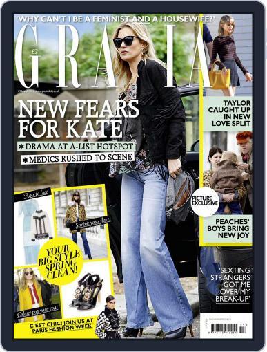 Grazia March 17th, 2015 Digital Back Issue Cover