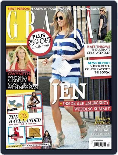 Grazia (Digital) March 31st, 2015 Issue Cover