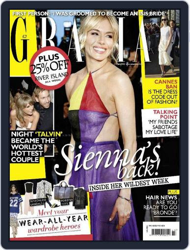 Grazia (Digital) June 1st, 2015 Issue Cover