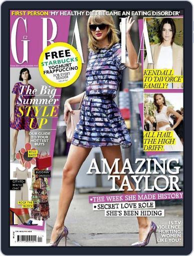 Grazia (Digital) June 8th, 2015 Issue Cover