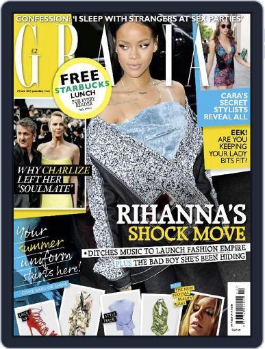 Grazia (Digital) June 29th, 2015 Issue Cover