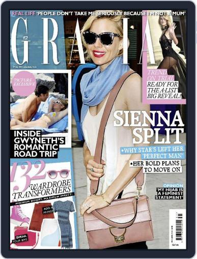 Grazia July 27th, 2015 Digital Back Issue Cover