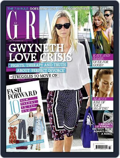 Grazia (Digital) August 3rd, 2015 Issue Cover