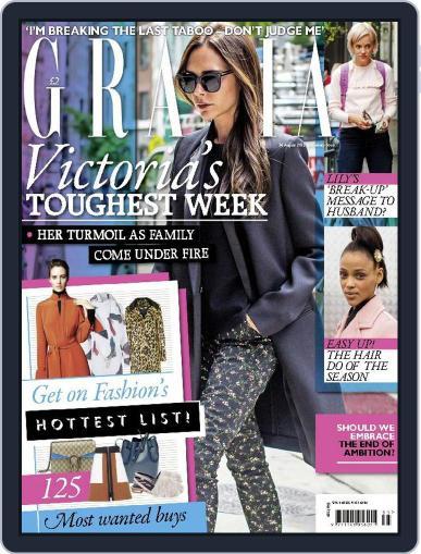 Grazia (Digital) August 24th, 2015 Issue Cover