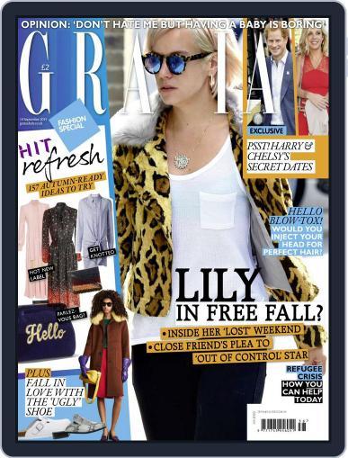 Grazia (Digital) September 14th, 2015 Issue Cover