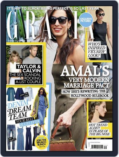 Grazia September 21st, 2015 Digital Back Issue Cover
