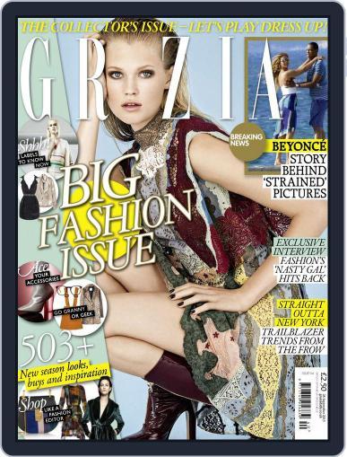 Grazia (Digital) September 28th, 2015 Issue Cover