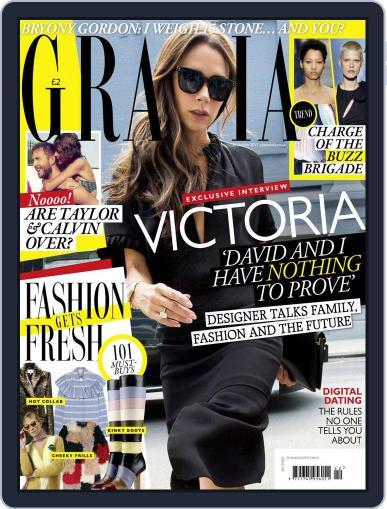 Grazia (Digital) October 12th, 2015 Issue Cover