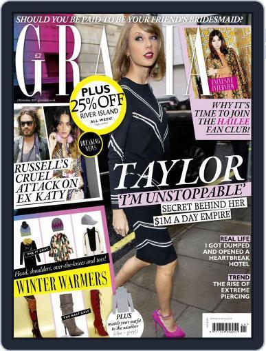 Grazia (Digital) November 2nd, 2015 Issue Cover
