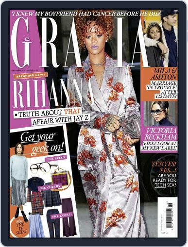 Grazia (Digital) November 9th, 2015 Issue Cover