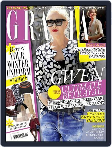 Grazia (Digital) November 17th, 2015 Issue Cover