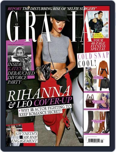 Grazia (Digital) January 27th, 2016 Issue Cover