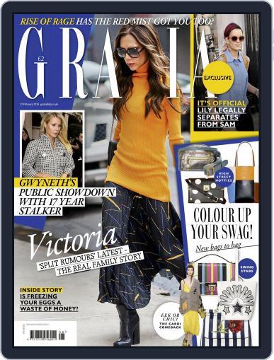 Grazia (Digital) February 18th, 2016 Issue Cover
