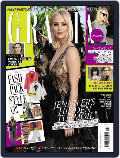 Grazia March 8th, 2016 Digital Back Issue Cover