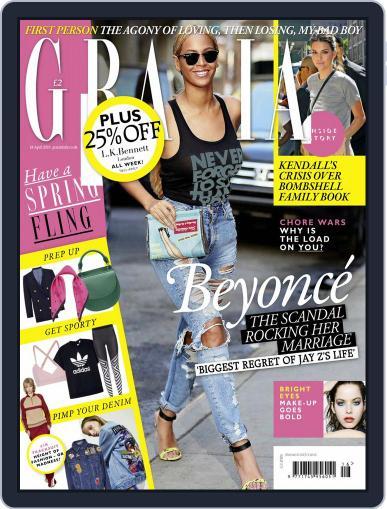 Grazia (Digital) April 12th, 2016 Issue Cover