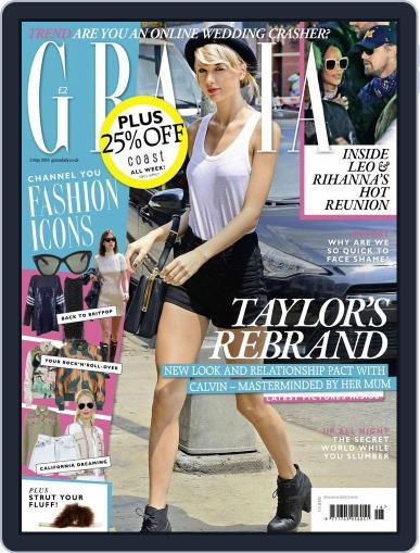 Grazia (Digital) April 26th, 2016 Issue Cover