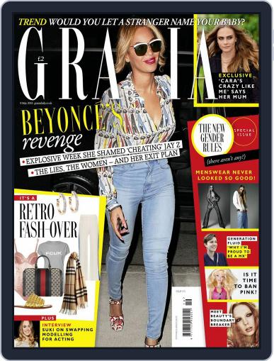 Grazia (Digital) May 3rd, 2016 Issue Cover