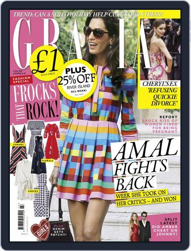 Grazia (Digital) May 31st, 2016 Issue Cover