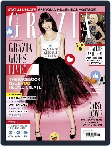 Grazia (Digital) June 21st, 2016 Issue Cover