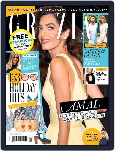 Grazia (Digital) July 19th, 2016 Issue Cover
