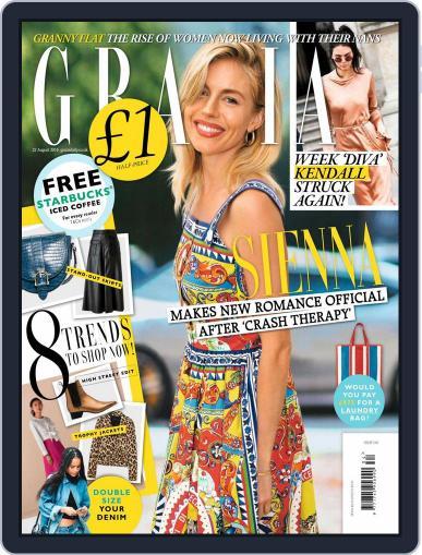 Grazia (Digital) August 16th, 2016 Issue Cover
