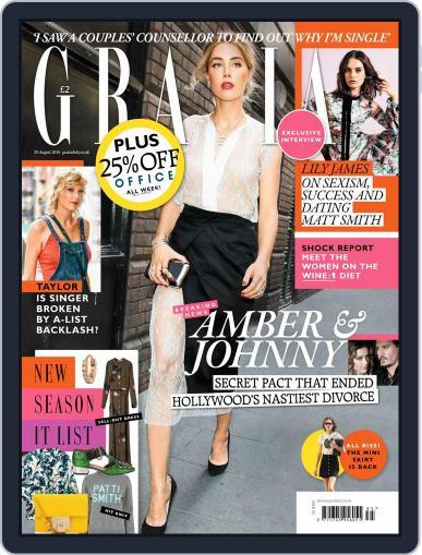 Grazia (Digital) August 29th, 2016 Issue Cover