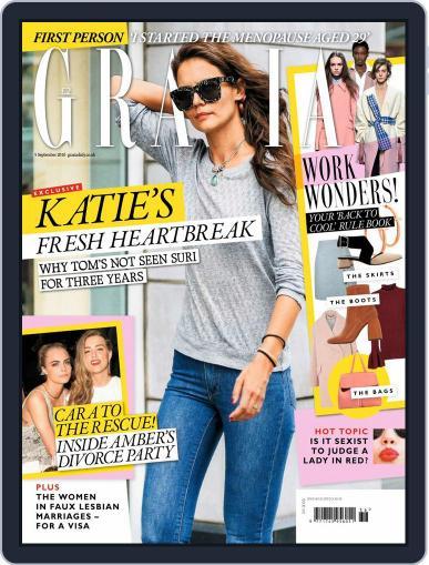 Grazia September 5th, 2016 Digital Back Issue Cover