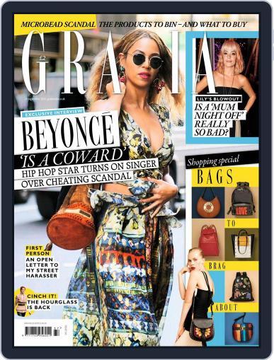 Grazia (Digital) September 12th, 2016 Issue Cover